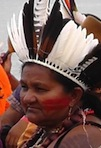 indigenous person from the Amazonian region